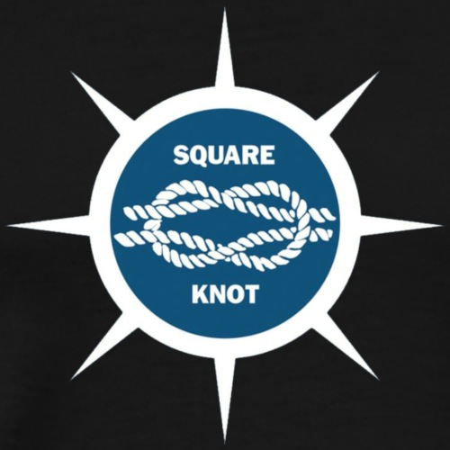 Square Knot Diner Logo in Star - Men's Premium T-Shirt