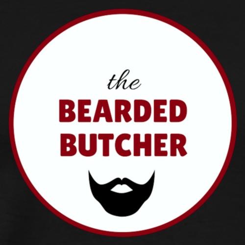 THE BEARDED BUTCHER LOGO - Men's Premium T-Shirt