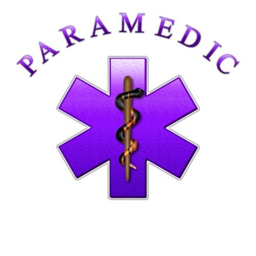 Paramedic (Violet) - Men's Premium T-Shirt