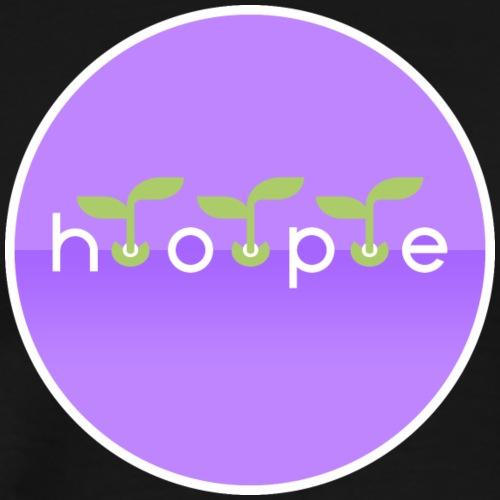 Hope in Heliotrope - Men's Premium T-Shirt