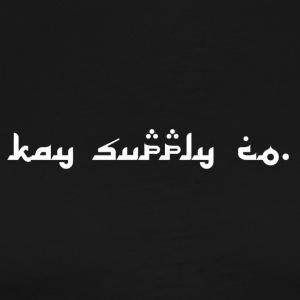 Kay supply Co. Arabic Type Lettering - Men's Premium T-Shirt