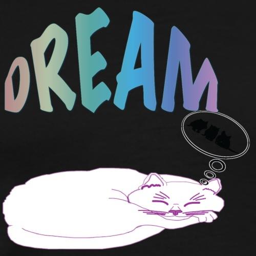 Dream Cat T Shirt 75 - Men's Premium T-Shirt