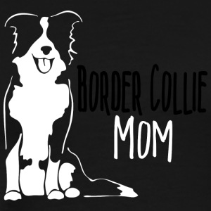 Border Collie Mom - Men's Premium T-Shirt