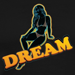 dream_girl_black - Men's Premium T-Shirt