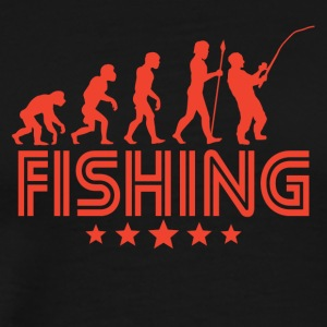 Retro Fishing Evolution - Men's Premium T-Shirt