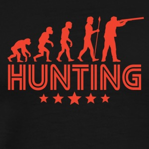 Retro Hunting Evolution - Men's Premium T-Shirt