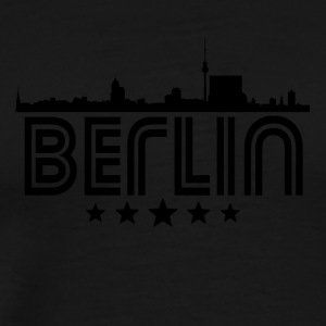 Retro Berlin Skyline - Men's Premium T-Shirt