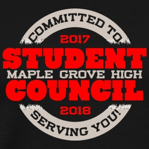 Committed To Serving You 2017 2018 Student Counci - Men's Premium T-Shirt