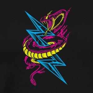 Lightning Serpent - Men's Premium T-Shirt