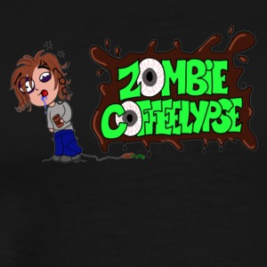 Zombie Coffeelypse - Men's Premium T-Shirt