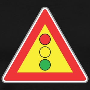 Road_sign_light - Men's Premium T-Shirt