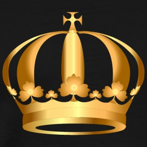 gold-crown-king - Men's Premium T-Shirt