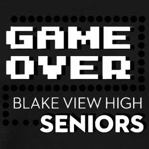 Game Over Blake View High Seniors - Men's Premium T-Shirt