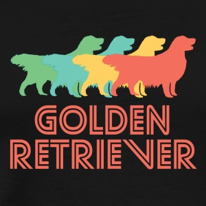 Golden Retriever Pop Art - Men's Premium T-Shirt