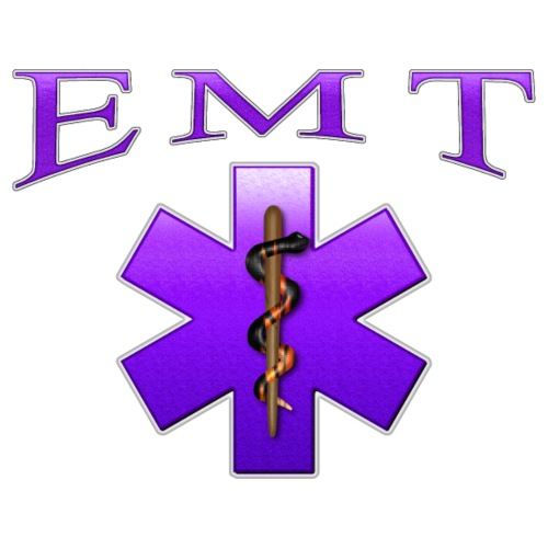 EMT (Violet) - Men's Premium T-Shirt