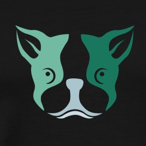 Cute Dog T-shirt design Describe your design so c - Men's Premium T-Shirt