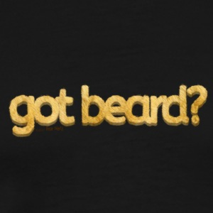 got beard?-Furry Fun-Bear Pride-Pizzly Bear - Men's Premium T-Shirt