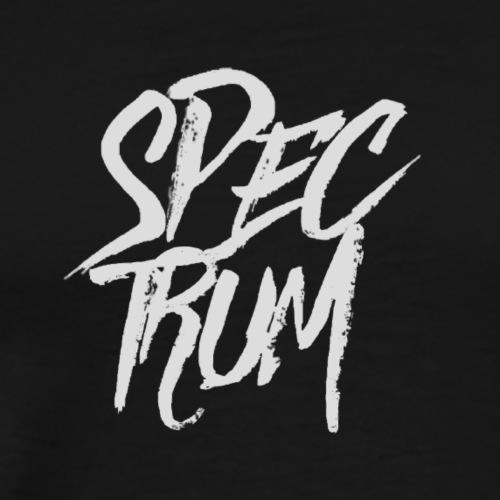 SPECTRUM,HAUNTED PREMIUM TEXT DESIGN - Men's Premium T-Shirt
