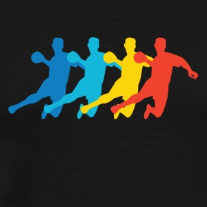 Retro Dodgeball Pop Art - Men's Premium T-Shirt