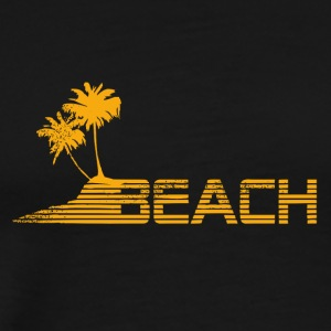 Beach and Palmas - Men's Premium T-Shirt