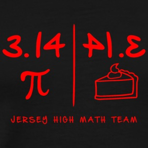 Jersey High Math Team - Men's Premium T-Shirt