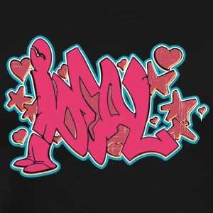 ideal_graffiti_red - Men's Premium T-Shirt