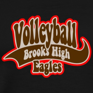 Volleyball Brooks High Eagles - Men's Premium T-Shirt