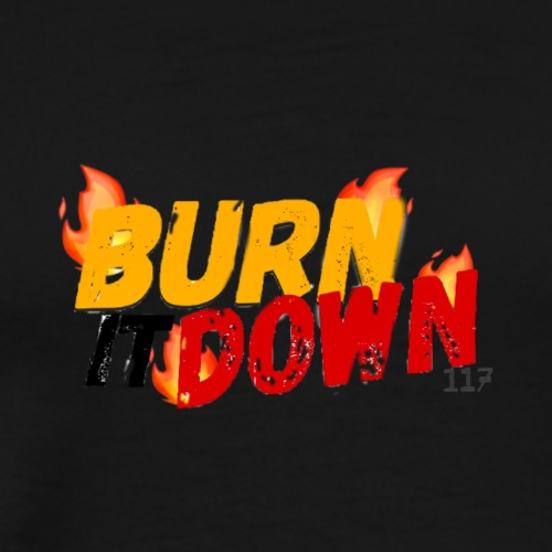 SPECTRUM BURN IT DOWN - Men's Premium T-Shirt