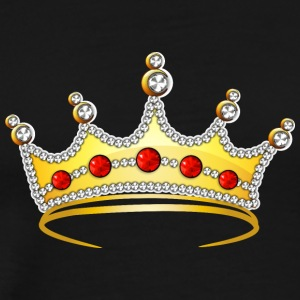 goden royal crown jewel cool art illustration - Men's Premium T-Shirt