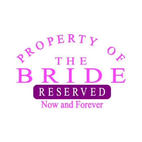 Property Bride Forever - Men's Premium T-Shirt