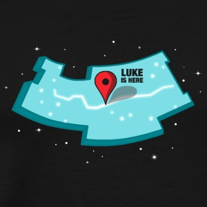 Where s Luke - Men's Premium T-Shirt