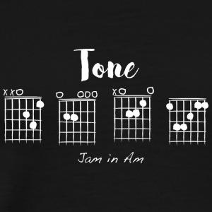 Tone D-E-A-F, jam in Am - Men's Premium T-Shirt