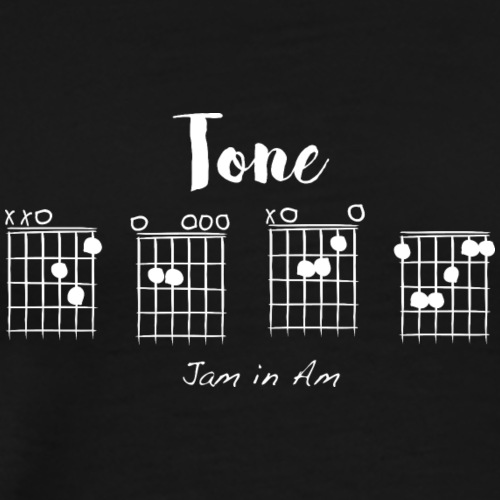 Tone D-E-A-F, jam in Am - Men's Premium T-Shirt