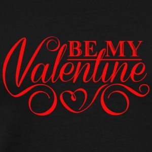 inscription-be-my-Valentine - Men's Premium T-Shirt