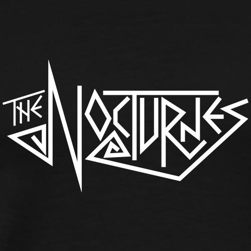 The Bloomington Nocturnes (White text) - Men's Premium T-Shirt