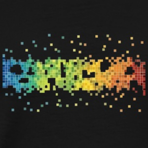 Simple design in pixels. - Men's Premium T-Shirt