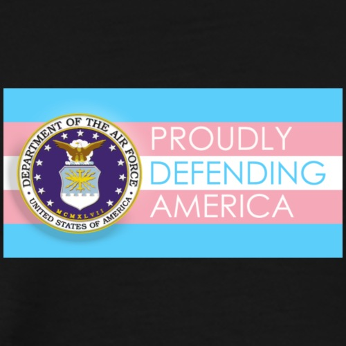 Transgender Air Force - Men's Premium T-Shirt