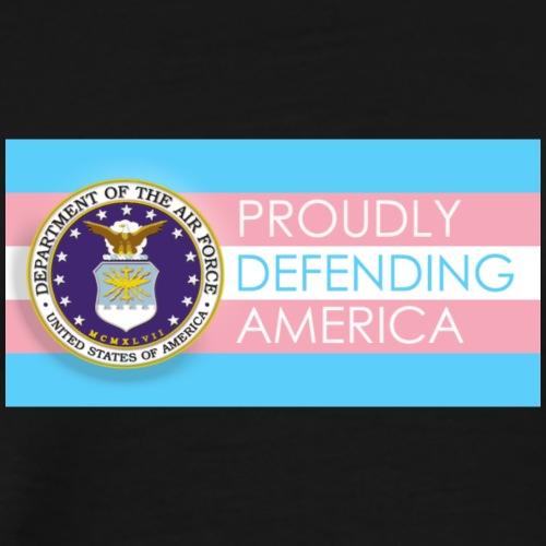 Transgender Air Force - Men's Premium T-Shirt