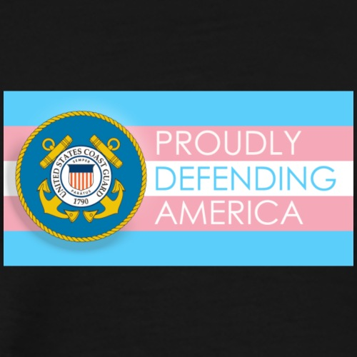 Transgender Coast Guard - Men's Premium T-Shirt