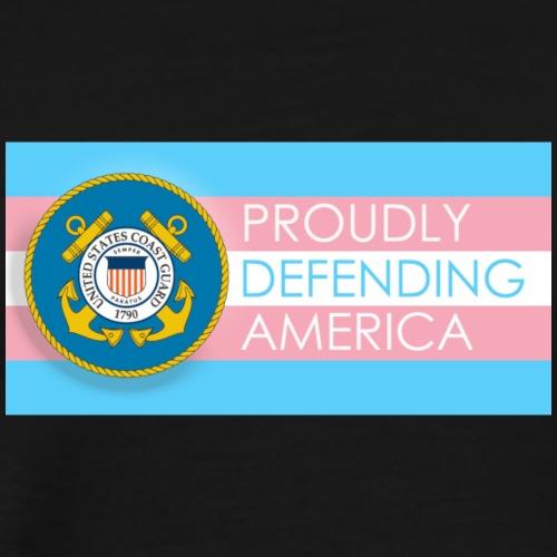 Transgender Coast Guard - Men's Premium T-Shirt