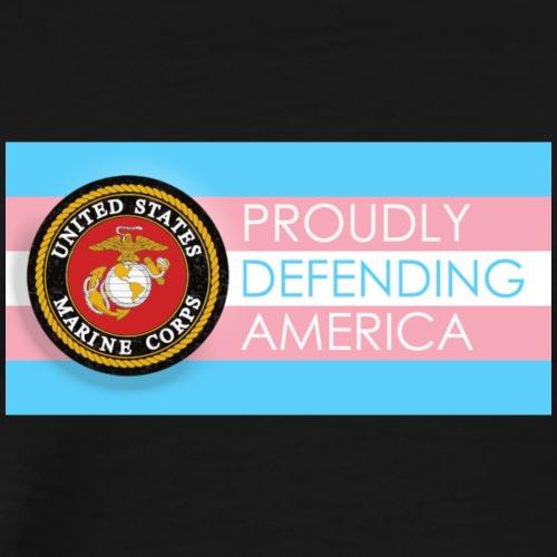 Transgender Marine - Men's Premium T-Shirt