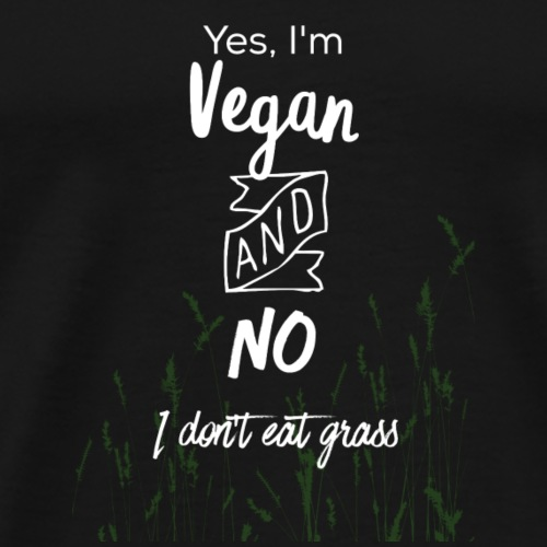 Vegan Design - Men's Premium T-Shirt
