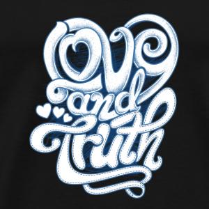love and truth - Men's Premium T-Shirt