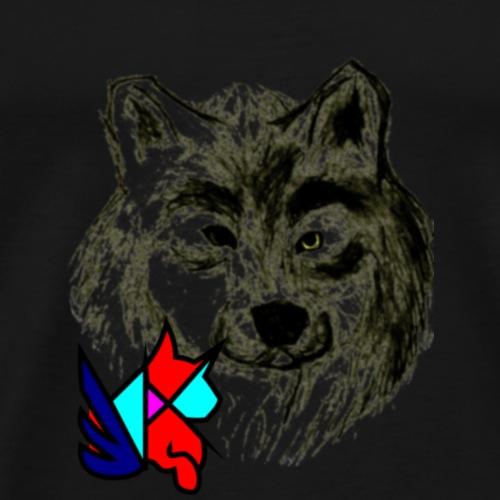 Tori's Wolf - Men's Premium T-Shirt