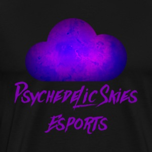 Psychedelic Skies Team Logo - Men's Premium T-Shirt