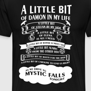 TVD Song (b/w) - Men's Premium T-Shirt