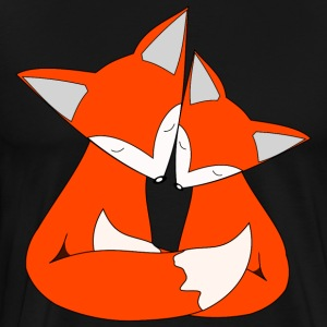 fox family - Men's Premium T-Shirt