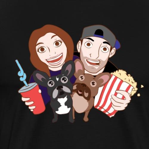 Talk Movies With Us Logo - Men's Premium T-Shirt