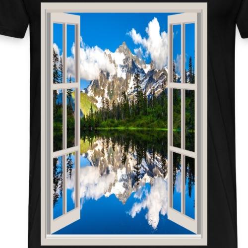 Window 1 - Men's Premium T-Shirt