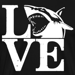 Love Sharks Tee Shirts - Men's Premium T-Shirt